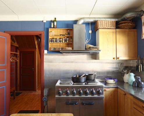 Kjøkkenet på Åstjernstua.